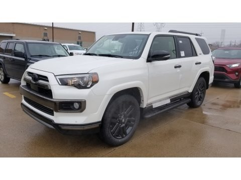 Blizzard White Pearl 2020 Toyota 4Runner Nightshade Edition 4x4