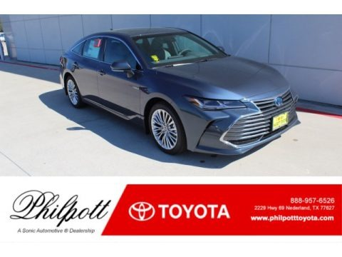 Harbor Gray Metallic 2020 Toyota Avalon Hybrid Limited