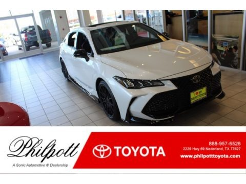 Wind Chill Pearl 2020 Toyota Avalon TRD