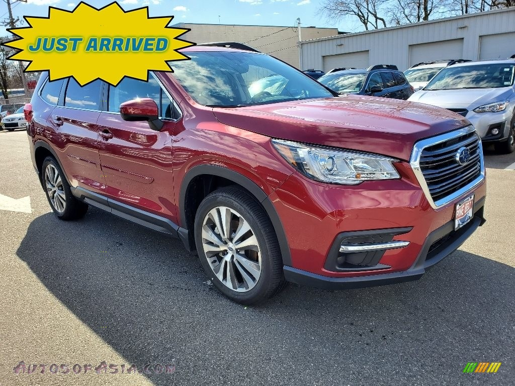 2020 Ascent Premium - Crimson Red Pearl / Slate photo #1