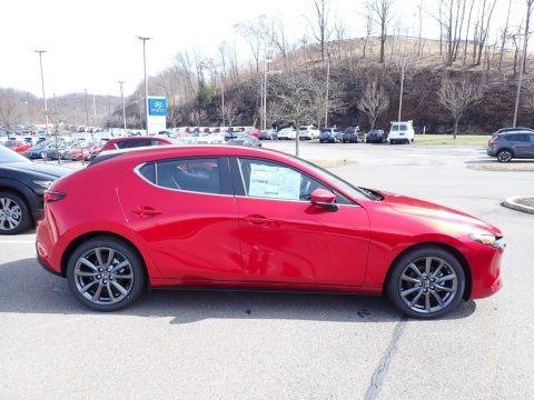 Soul Red Crystal Metallic 2020 Mazda MAZDA3 Preferred Hatchback AWD