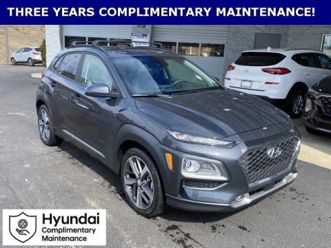 Thunder Gray 2020 Hyundai Kona Ultimate AWD