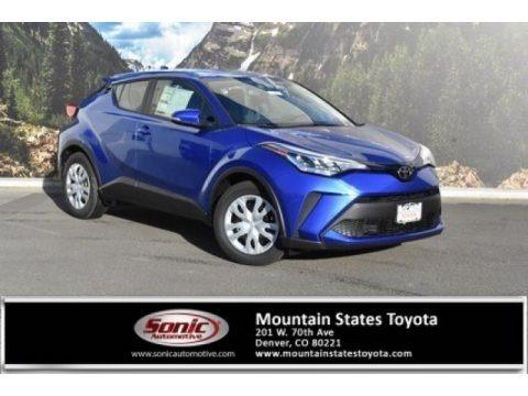 Blue Eclipse Metallic 2020 Toyota C-HR LE