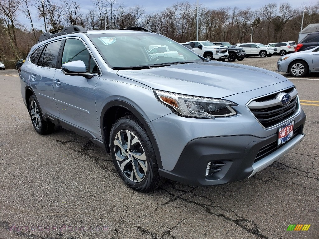Ice Silver Metallic / Slate Black Subaru Outback Limited XT