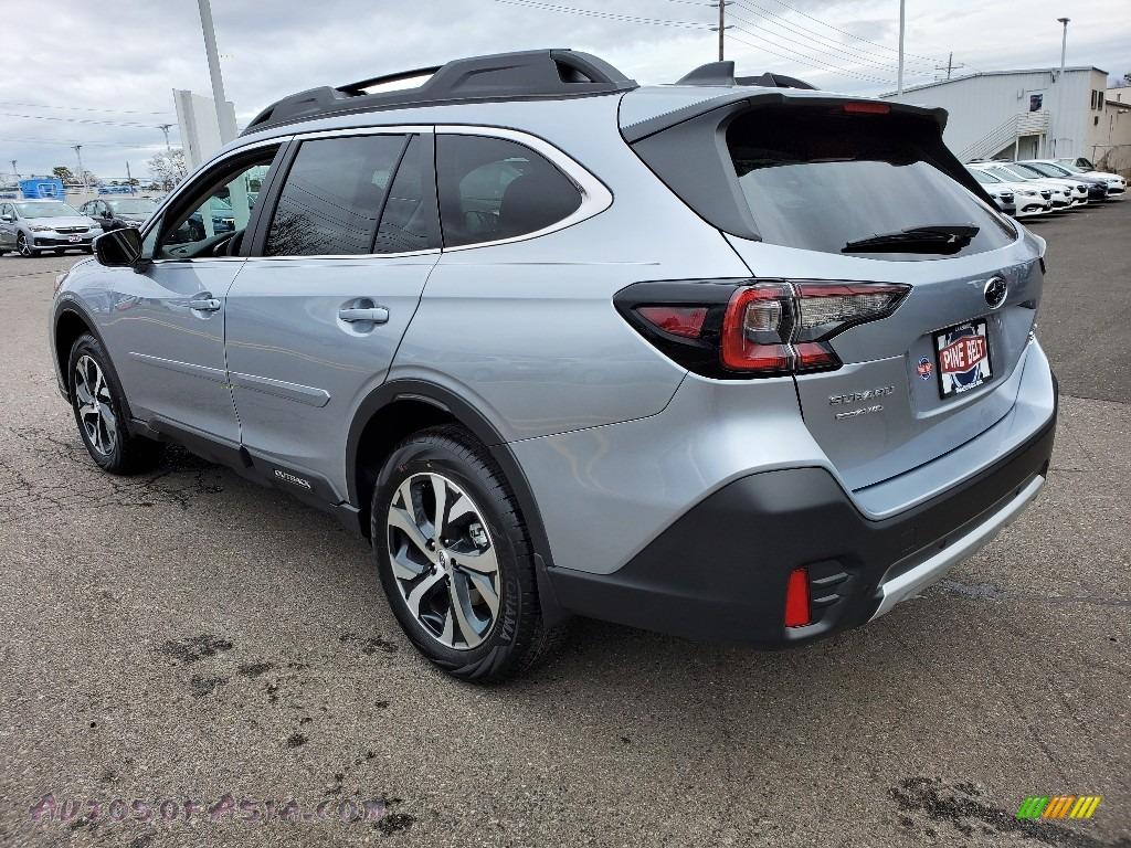 2020 Outback Limited XT - Ice Silver Metallic / Slate Black photo #6