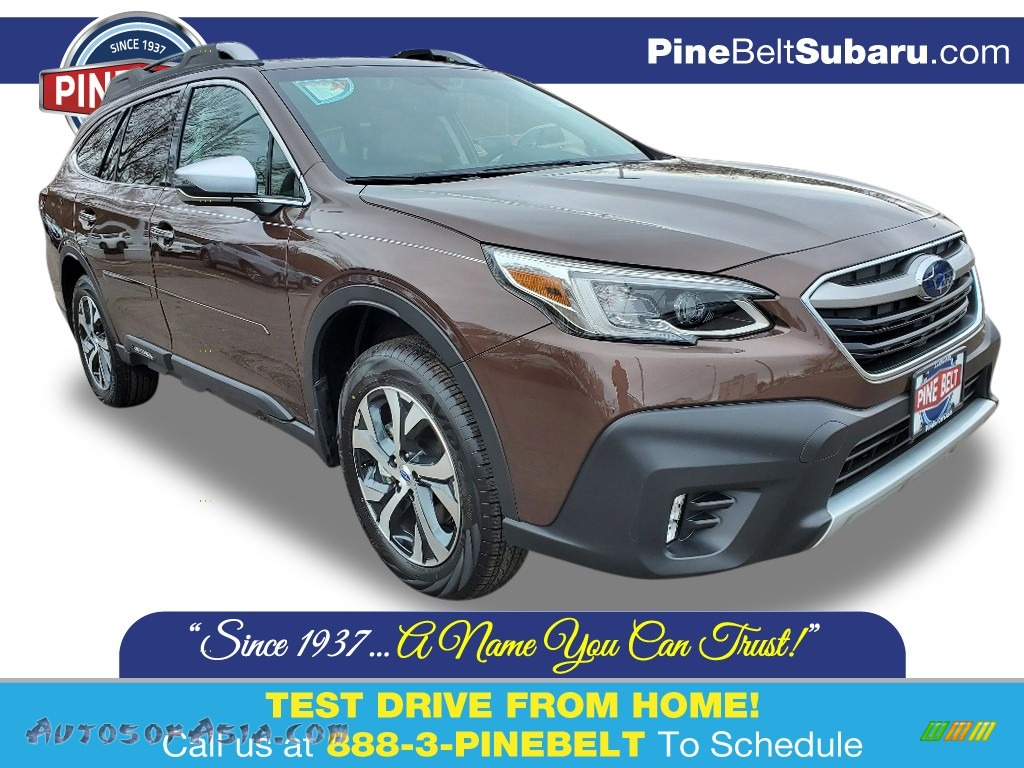 2020 Outback 2.5i Touring - Cinnamon Brown Pearl / Java Brown photo #1