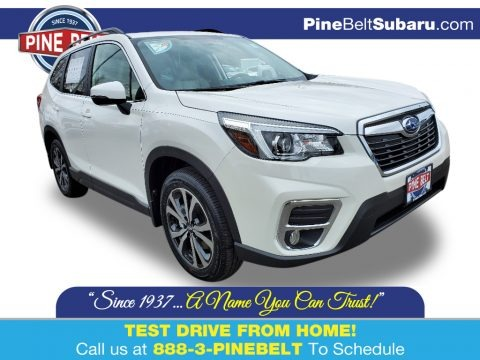 Crystal White Pearl 2020 Subaru Forester 2.5i Limited