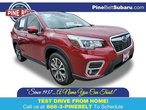 Crimson Red Pearl 2020 Subaru Forester 2.5i Limited