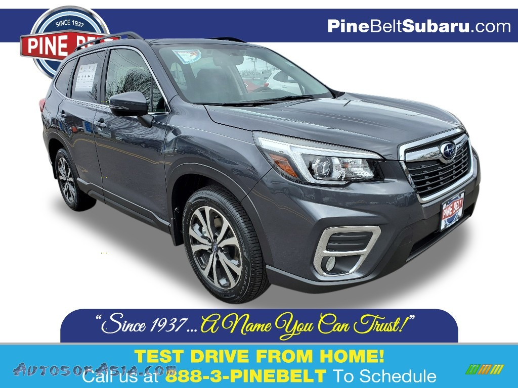 2020 Forester 2.5i Limited - Magnetite Gray Metallic / Black photo #1
