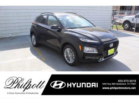Ultra Black 2020 Hyundai Kona SEL