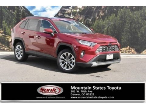 Ruby Flare Pearl 2020 Toyota RAV4 Limited AWD
