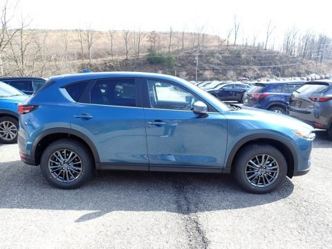 Eternal Blue Mica 2020 Mazda CX-5 Touring AWD