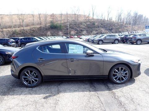 Machine Gray Metallic 2020 Mazda MAZDA3 Hatchback