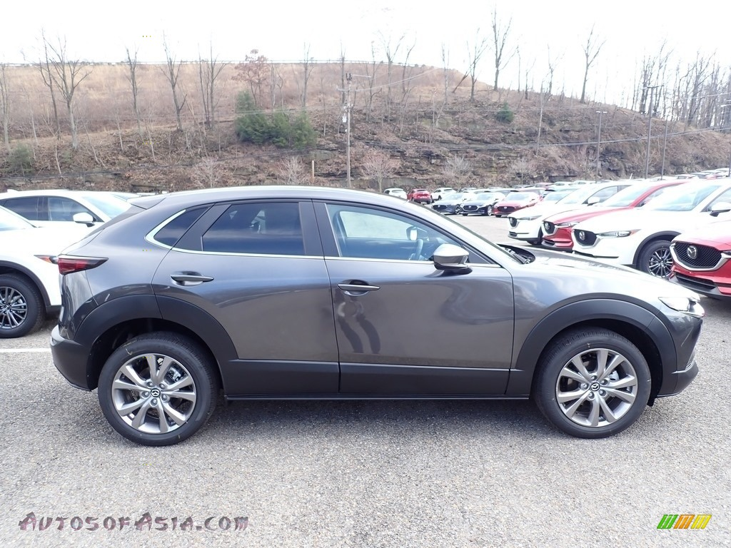 2020 CX-30 Select AWD - Machine Gray Metallic / Black photo #1