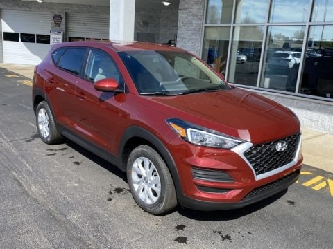 Gemstone Red 2020 Hyundai Tucson SE AWD