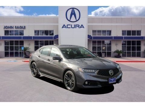 Modern Steel Metallic 2020 Acura TLX V6 A-Spec Sedan