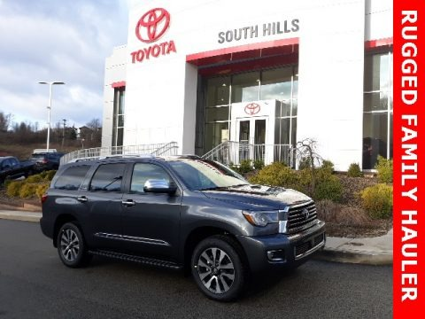 Magnetic Gray Metallic 2020 Toyota Sequoia Limited 4x4