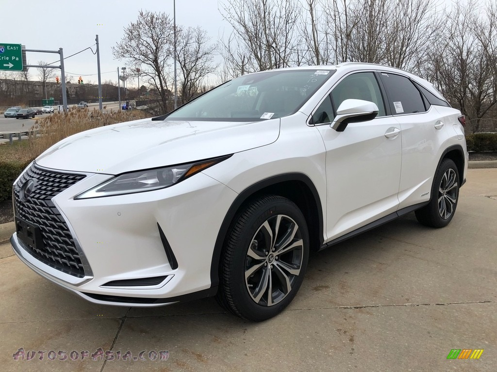 2020 RX 450h AWD - Eminent White Pearl / Parchment photo #1