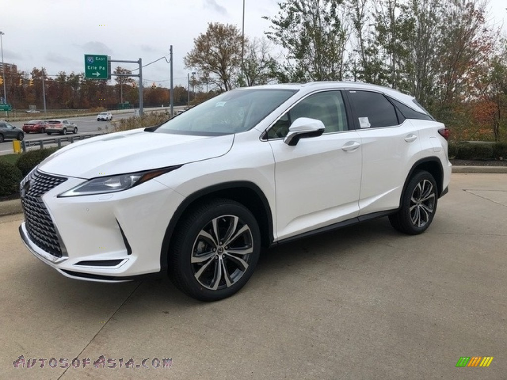 2020 RX 350 AWD - Eminent White Pearl / Parchment photo #1