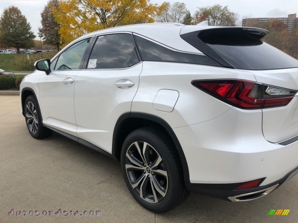 2020 RX 350 AWD - Eminent White Pearl / Parchment photo #4