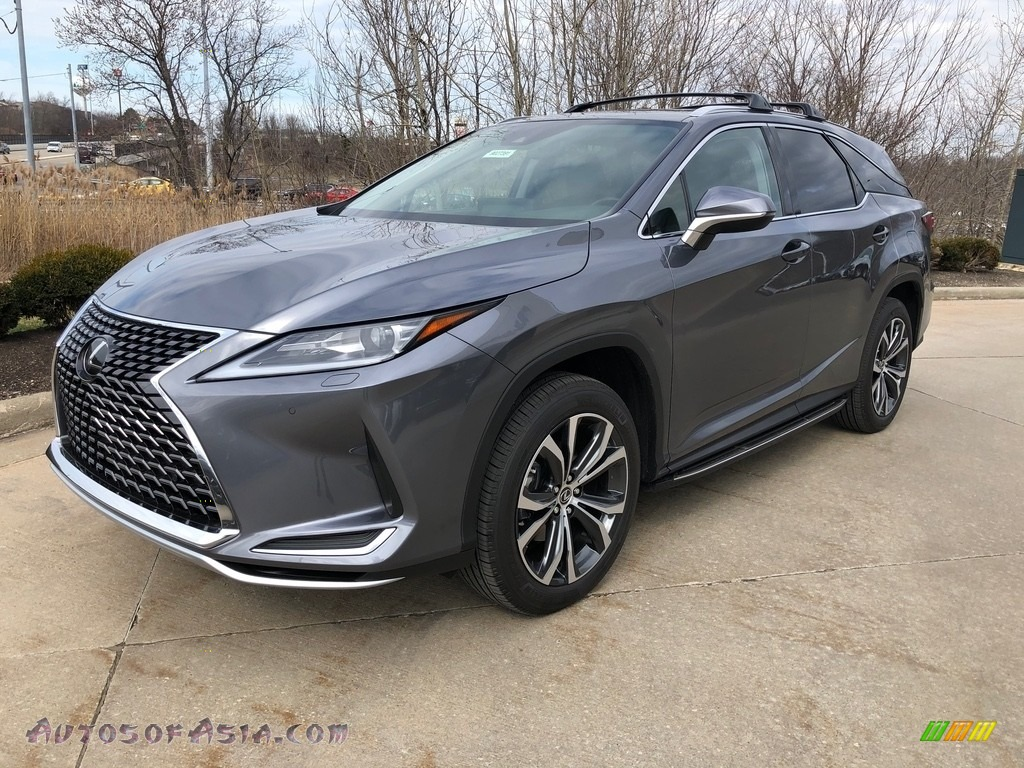 2020 RX 350L AWD - Nebula Gray Pearl / Black photo #1