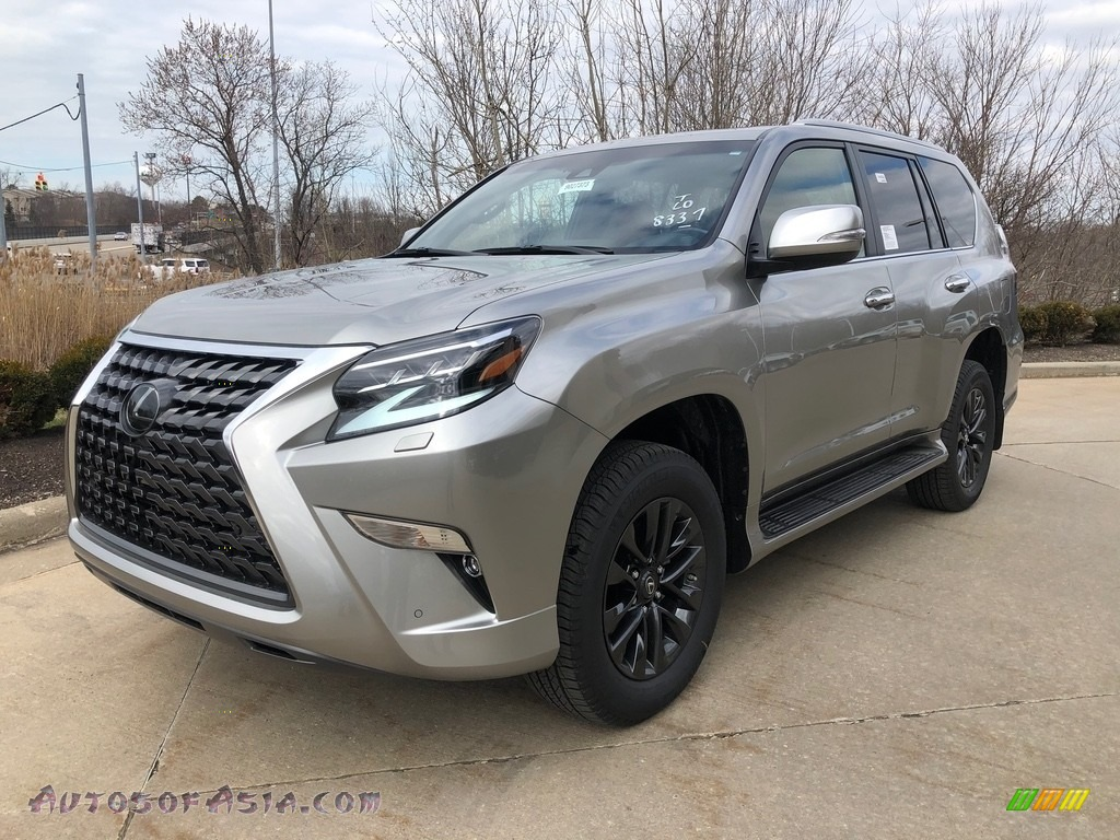 Atomic Silver / Rioja Red Lexus GX 460