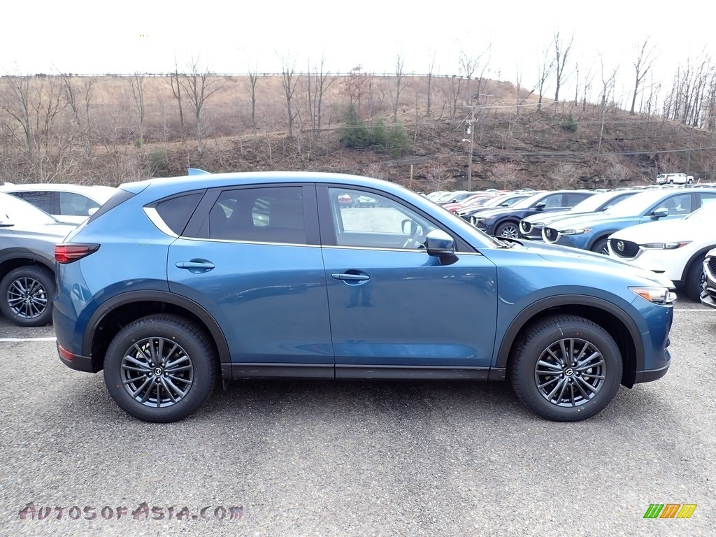 2020 CX-5 Touring AWD - Eternal Blue Mica / Black photo #1