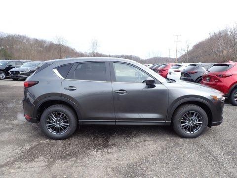 Machine Gray Metallic 2020 Mazda CX-5 Touring AWD