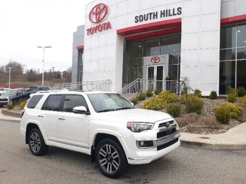 Blizzard White Pearl 2020 Toyota 4Runner Limited 4x4