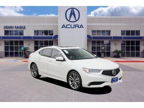 Lunar Silver Metallic 2020 Acura TLX V6 Technology Sedan