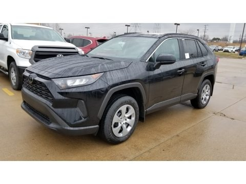 Midnight Black Metallic 2020 Toyota RAV4 LE AWD