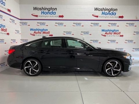 Crystal Black Pearl 2020 Honda Accord Sport Sedan