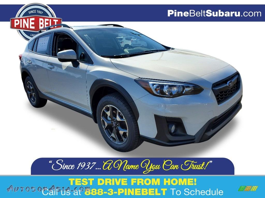 Crystal White Pearl / Gray Subaru Crosstrek 2.0 Premium