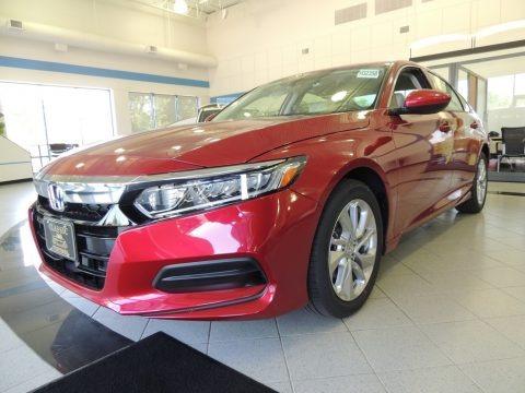 Radiant Red Metallic 2020 Honda Accord LX Sedan