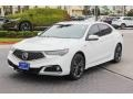 Acura TLX V6 A-Spec Sedan Platinum White Pearl photo #4