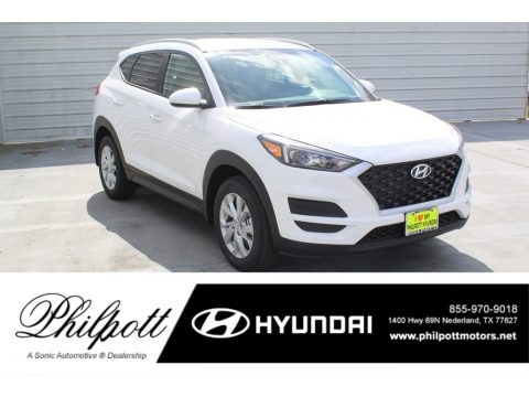 Winter White 2020 Hyundai Tucson Value