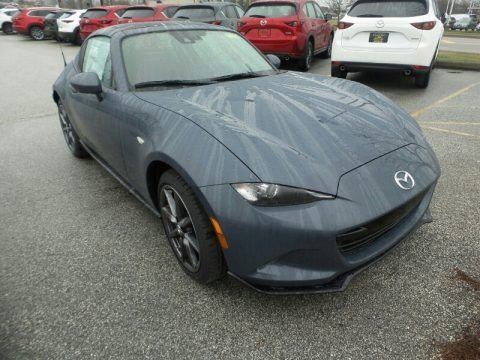Polymetal Gray 2020 Mazda MX-5 Miata Grand Touring