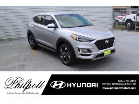 Stellar Silver 2020 Hyundai Tucson Sport