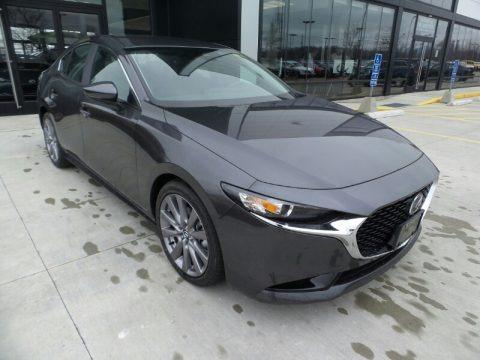 Machine Gray Metallic 2020 Mazda MAZDA3 Preferred Sedan AWD
