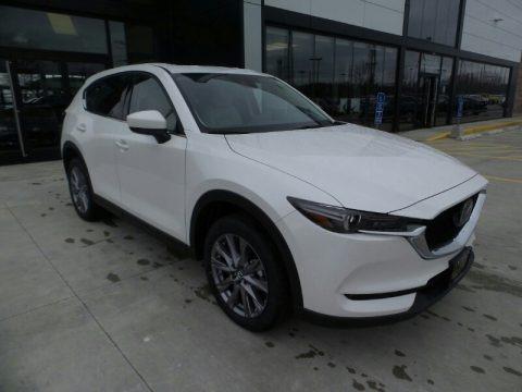 Snowflake White Pearl 2020 Mazda CX-5 Grand Touring AWD