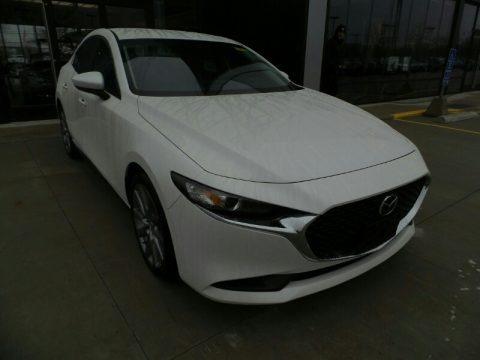 Snowflake White Pearl Mica 2020 Mazda MAZDA3 Select Sedan AWD