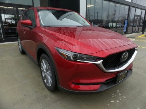 Soul Red Crystal Metallic 2020 Mazda CX-5 Grand Touring AWD