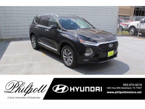 Twilight Black 2020 Hyundai Santa Fe SEL