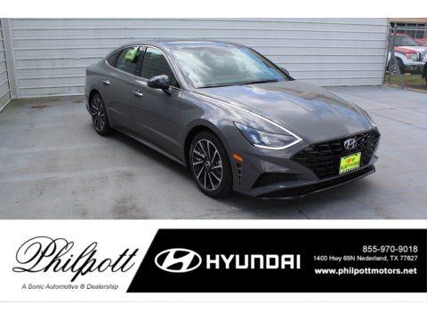 Hampton Gray 2020 Hyundai Sonata SEL Plus