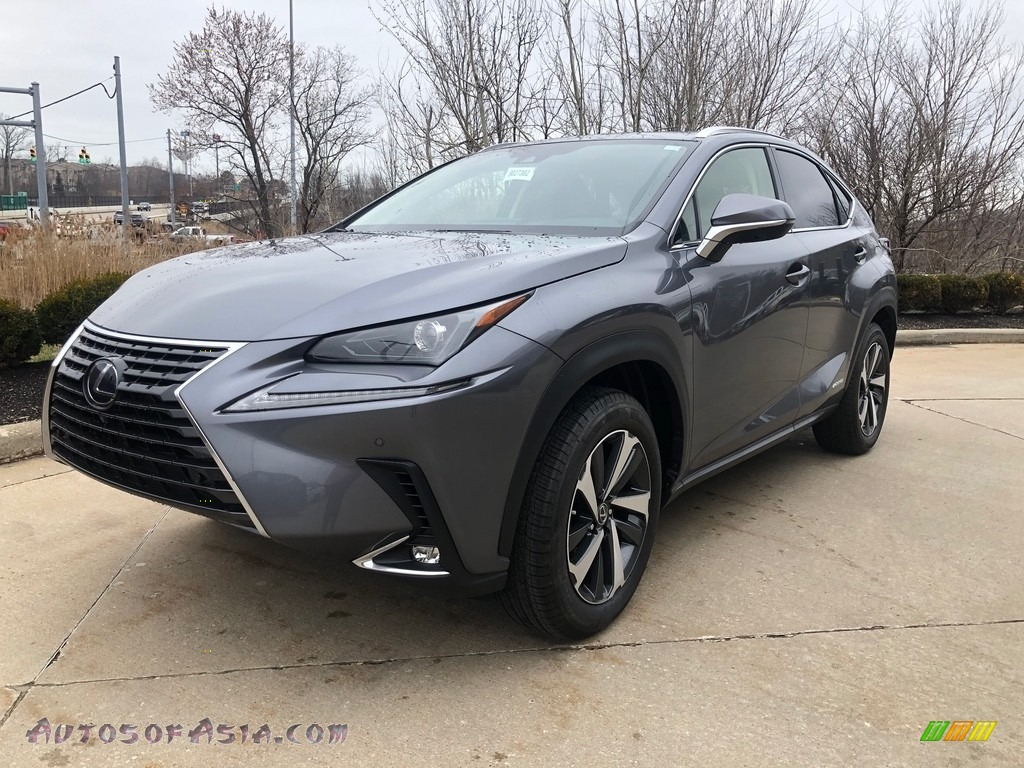 2020 NX 300h AWD - Nebula Gray Pearl / Black photo #1