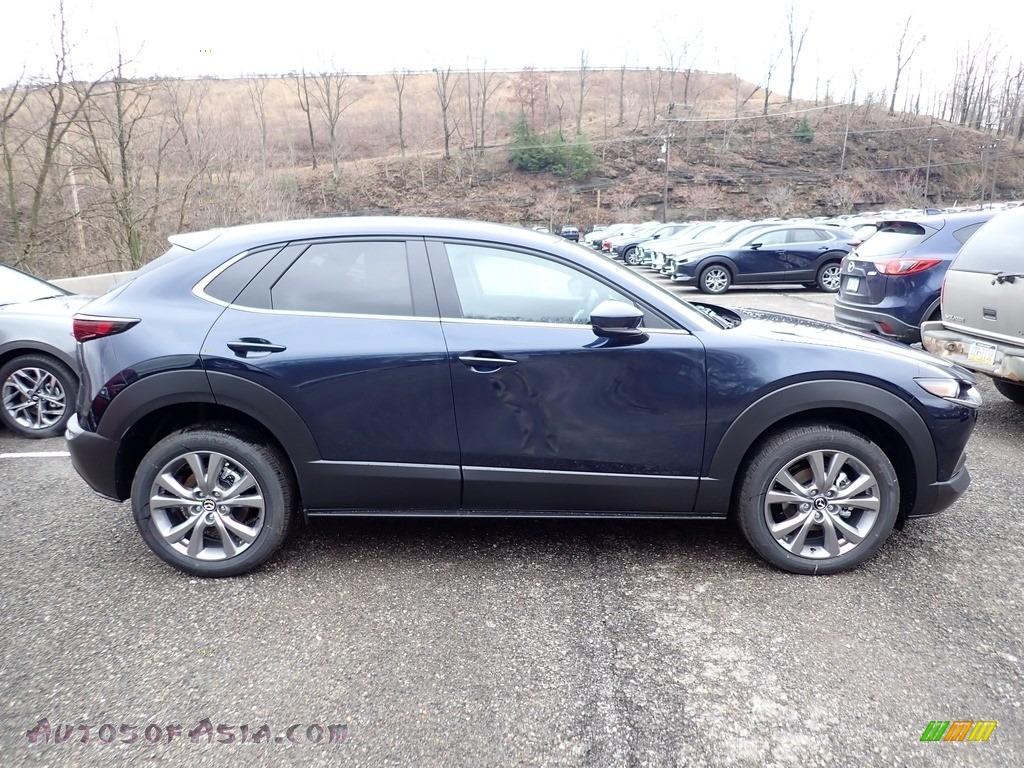 2020 CX-30 Select AWD - Deep Crystal Blue Mica / Black photo #1