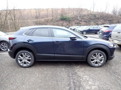 Deep Crystal Blue Mica 2020 Mazda CX-30 Select AWD