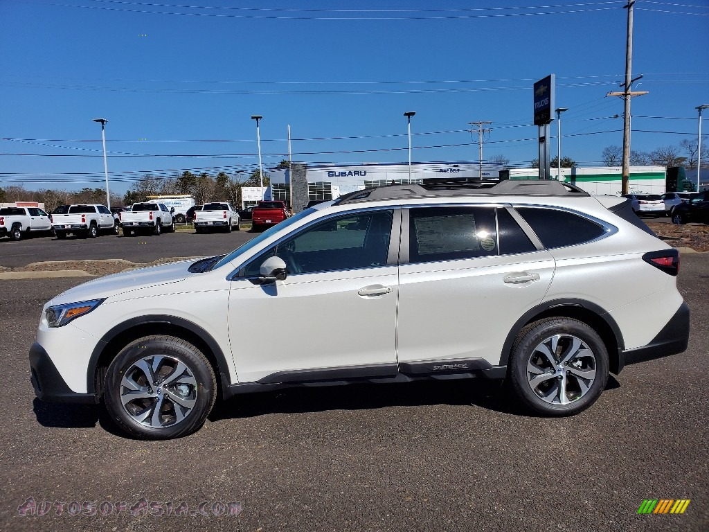 2020 Outback 2.5i Limited - Crystal White Pearl / Slate Black photo #3