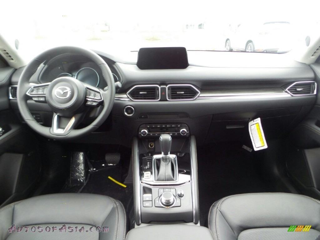 2020 CX-5 Grand Touring AWD - Snowflake White Pearl / Black photo #11