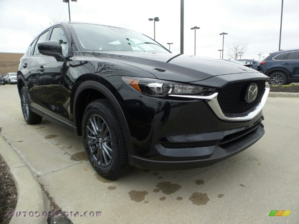2020 CX-5 Sport AWD - Jet Black Mica / Black photo #1